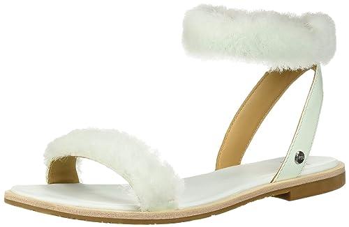 470e13a60af UGG Women's Fluff Springs Flat Sandal