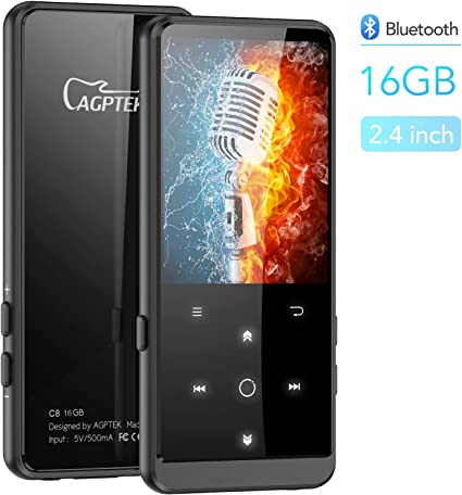 Fashion MP3 MP4 Music Player 8GB-256GB Memory Card Portable Walkman Media Player