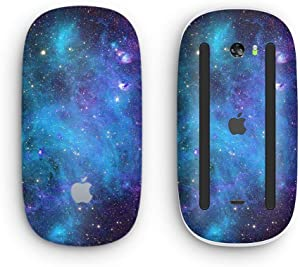 Azure Nebula - Design Skinz Premium Vinyl Decal for The Apple Magic Mouse 2 (Wireless, Rechargable) with Multi-Touch Surface