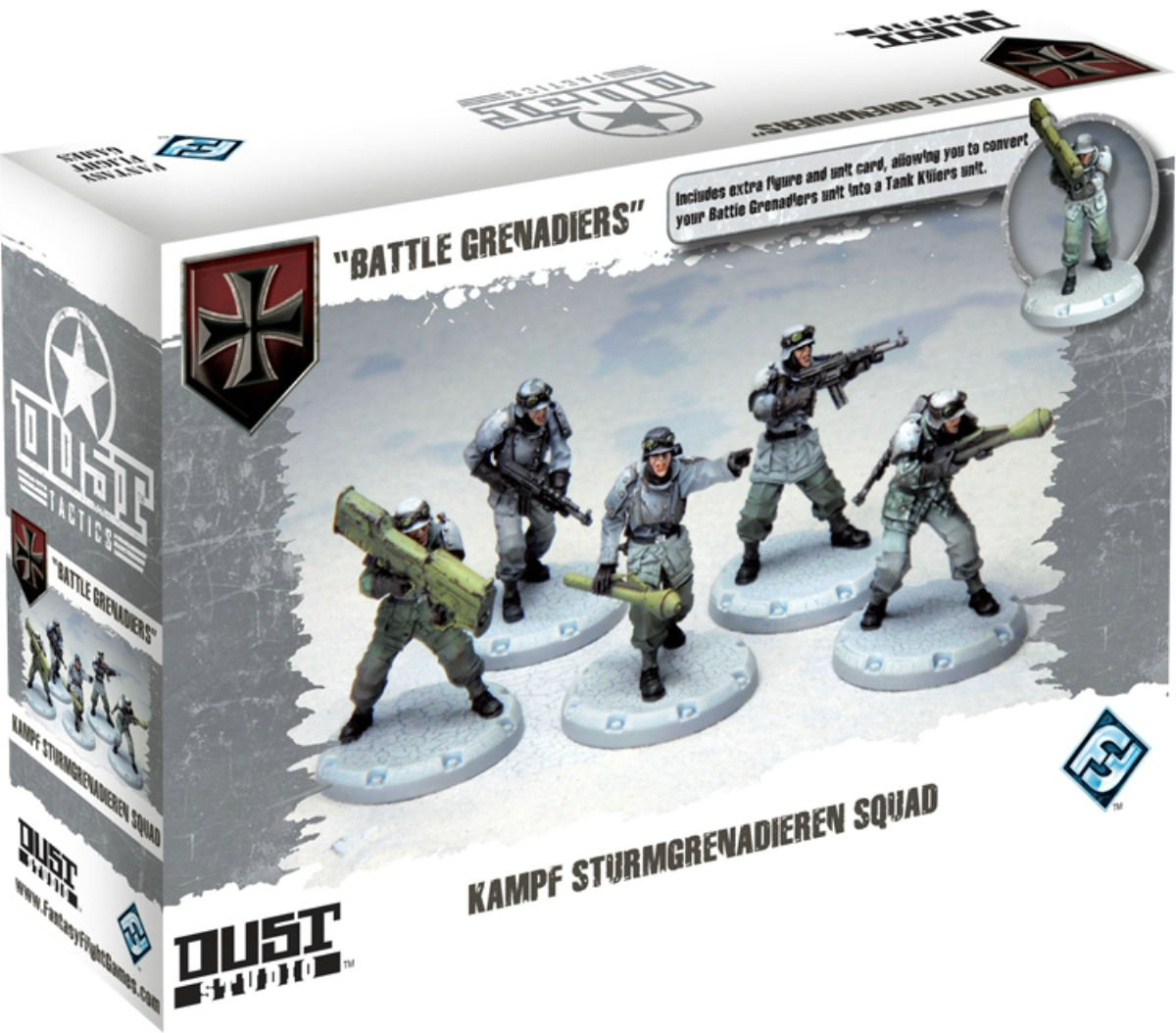 Fantasy Flight Games DT003 - Dust Tactics: Battle Grenadiers