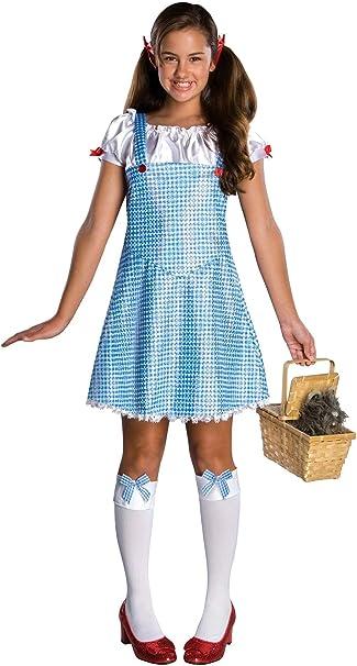 Disfraz de Dorothy El Mago de Oz para adolescente - S: Amazon.es ...