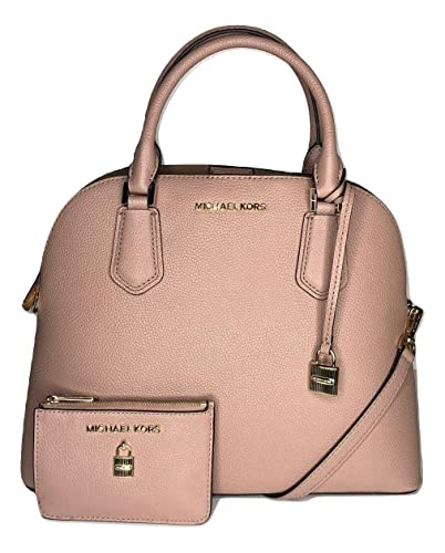 fadacb3bcf7c MICHAEL Michael Kors Adele Large Dome Satchel bundled with Michael Kors  Adele Small TZ Coinpouch with