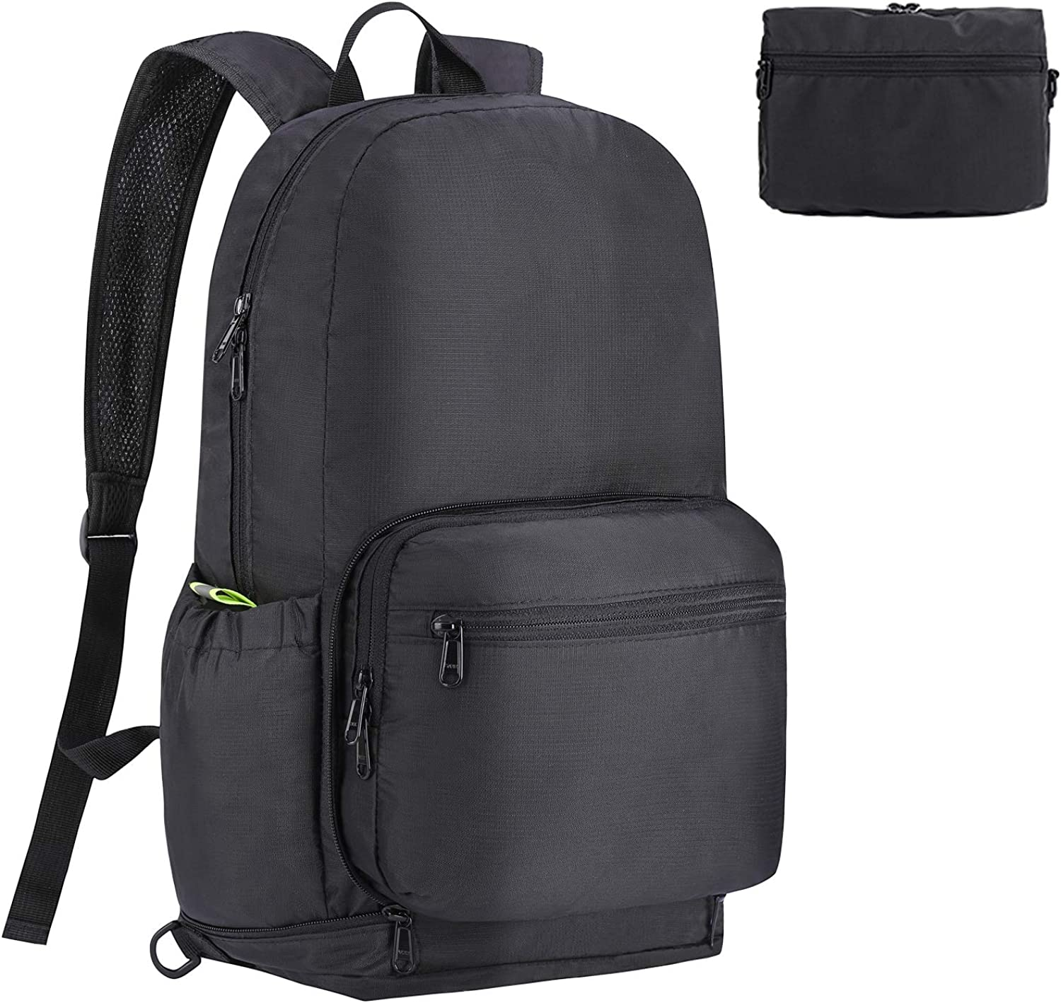 Vproof Packable Backpack, Multifunctional Hiking Backpack Fanny Pack