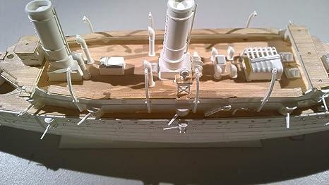 Amazon.com: Premium cubierta de madera para 1/232 USS ...