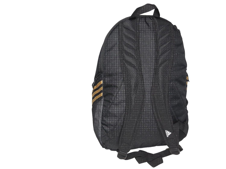 e3d2e6a84 Amazon.com | Adidas ESTADIO IV BACKPACK - Black/Gold, One Size | Casual  Daypacks
