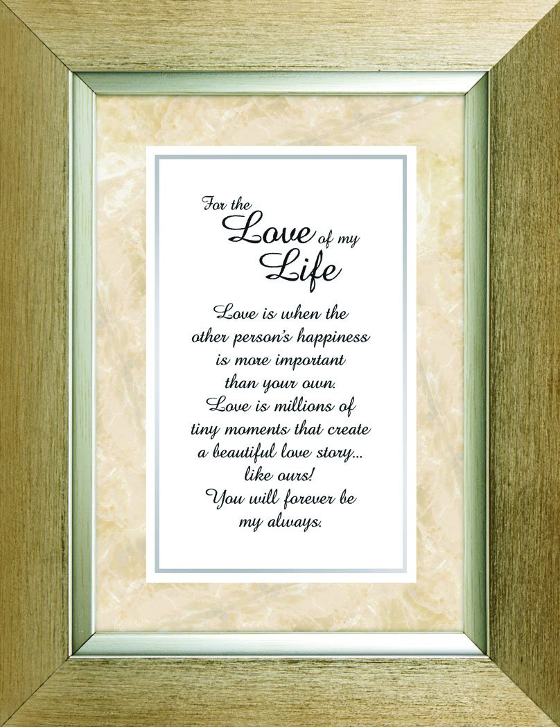 Heartfelt Collection Meaningful Moments Frame, Love Of My Life
