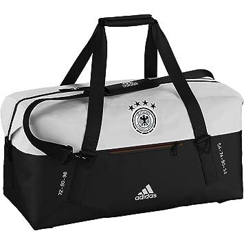 f2203138ceaa62 adidas Teambag Away Germany Euro 2016 Holdall - Black/White, 27 x 60 ...