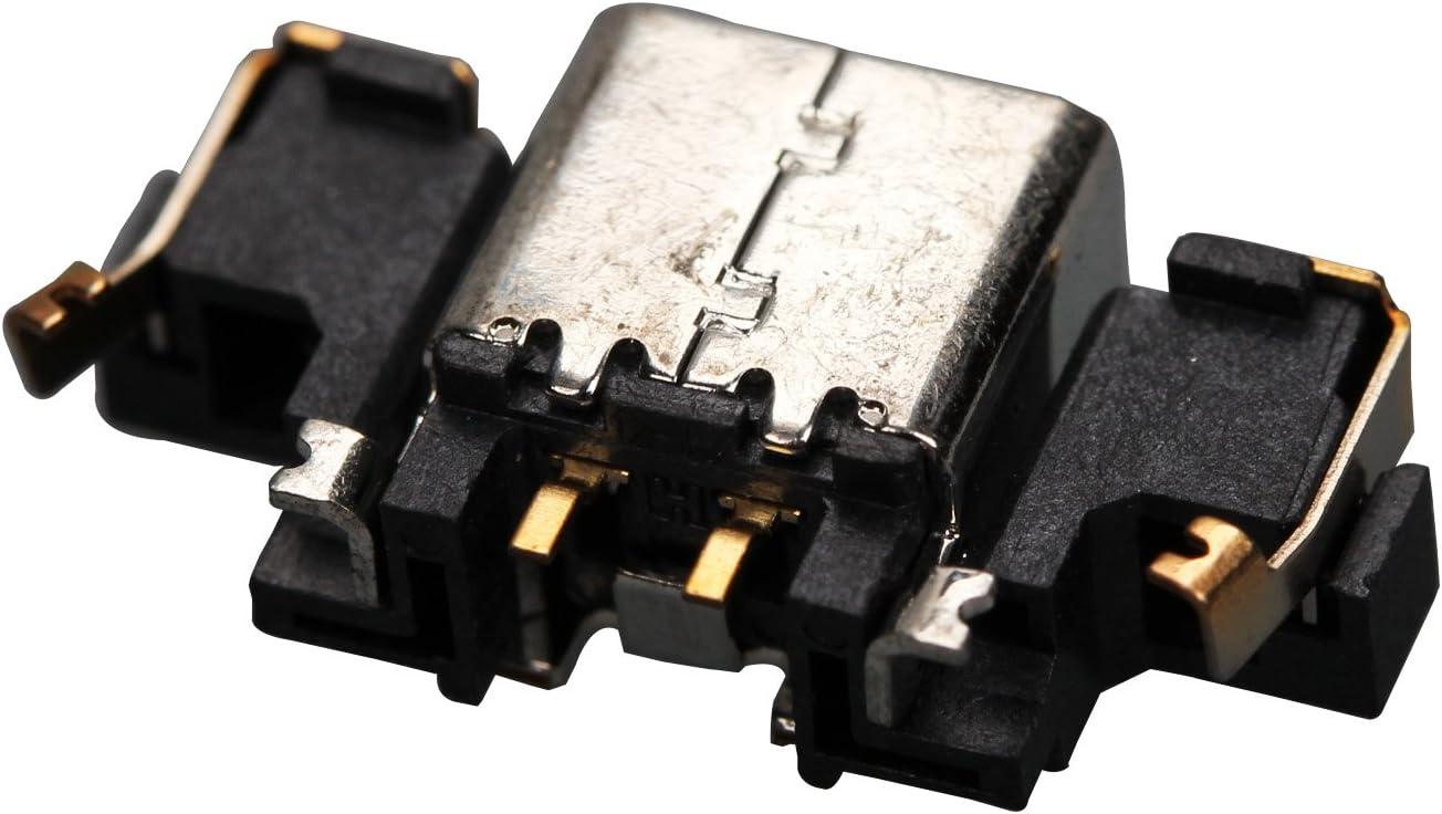 eJiasu 3DS Power Plug DC Jack Charger Charging Port Socket Connector Dock Internal Replacement Part for 3DS/3DS XL (10pcs)