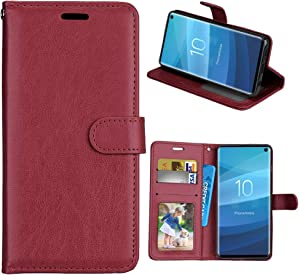XYX Wallet Case [3 Card Holder][Stand Feature] Premium Flip PU Leather Magnetic Closure TPU Bumper Slim Fit Cover for Lenovo Vibe K4 Note A7010/Vibe X3 Lite (Brown)