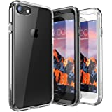 iPhone 7 Case, iPhone 8 Case, SUPCASE Ares Bumper Case includes 2 interchangeable front casings with Built-in Screen Protector for Apple iPhone 7 2016/iPhone 8 2017, Clear
