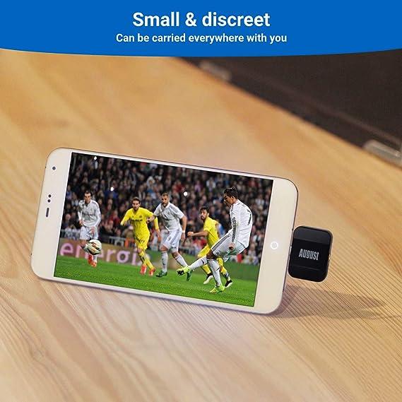 Sintonizador TDT HD Micro USB - August DVB-T305: Amazon.es ...