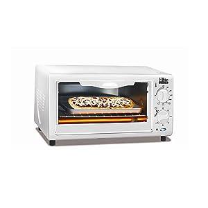 Elite Cuisine EKA-9210XW Maxi-Matic Toaster Oven Broiler, White