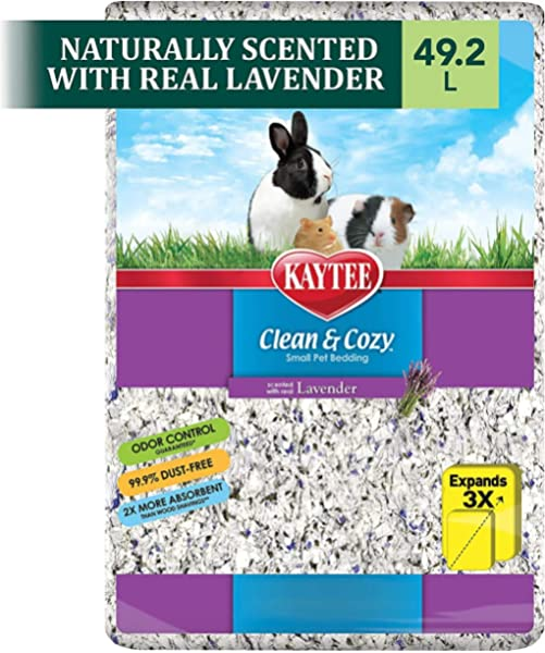 Amazon Com Kaytee Clean Cozy Bedding White 49 2 Liters Pack Of 1 Small Animal Bedding Pet Supplies