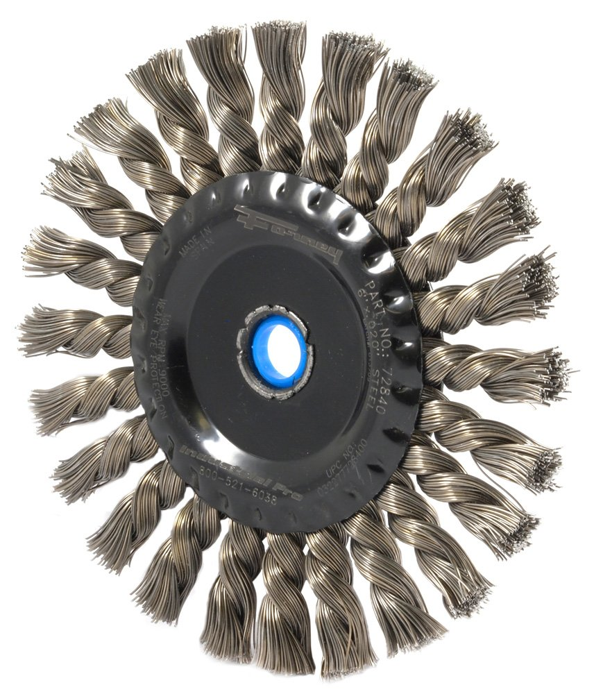 1ac553550aa1d ... Forney 72840 Wire Wheel Brush