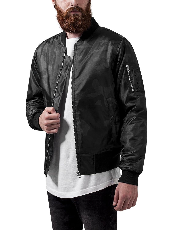 Urban Classics Men's Camo Basic Bomber Jacket