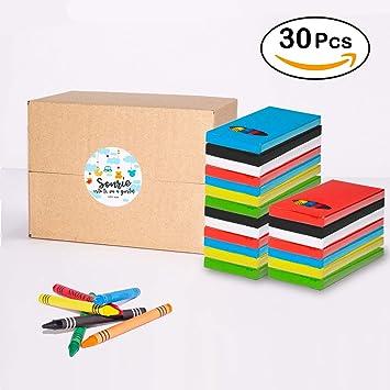 MegaPack de 30 Sets de Ceras para Colorear | Regalo Divertido para ...