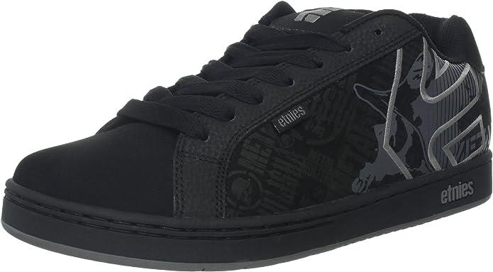 Etnies Fader Metal Mulisha Sneakers Skateboardschuhe Herren Schwarz/Grau