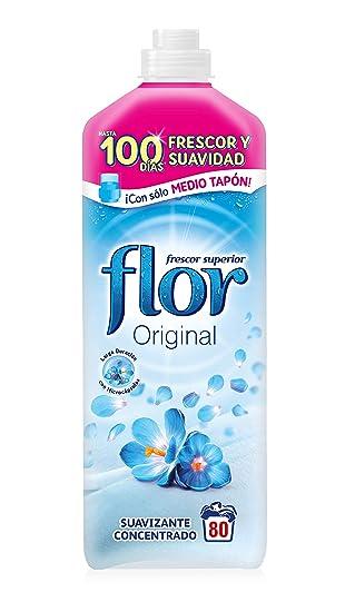 Flor Original - Suavizante Concentrado, para la Ropa, 72 lavados ...