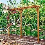 Holz-Pergola Verlängerung Bausatz für die Terrasse als Verlängerung ...