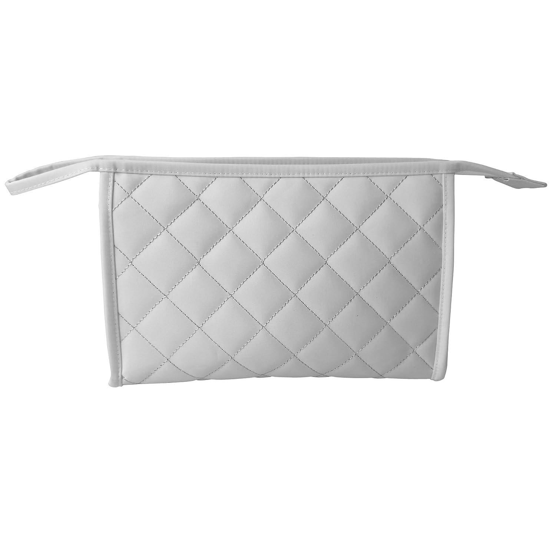Douceur d\'Inté rieur 6ASB283BC Glitter Home Trousse de Toilette Blanc 0, 01 x 7 x 15, 5 cm Douceur d' Intérieur