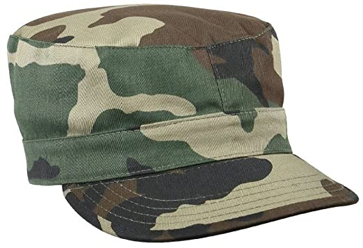 Camouflage   Solids Military Patrol Hat Fatigue Cap Army Navy Air Force  Marine 3fc65f20b