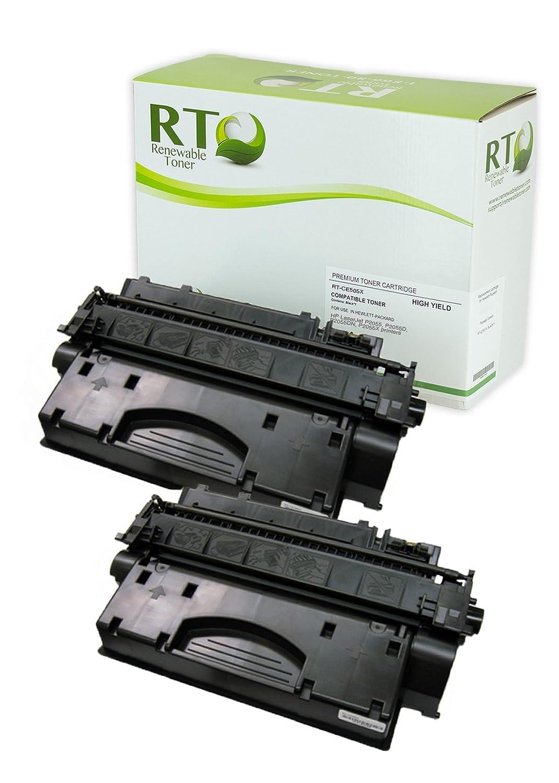 再生可能トナーce505 X互換トナーカートリッジ交換HP 05 X LASERJET p2055 p2055d p2055dn p2055 X 4 Pack B07B43MBKF 4 Pack  4 Pack