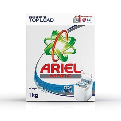 Amazon com: Ariel Matic Top Load Detergent Washing Powder - 1 kg