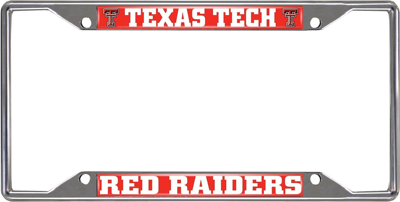 FANMATS NCAA Texas Tech University Red Raiders Nylon Face Mascot Rug