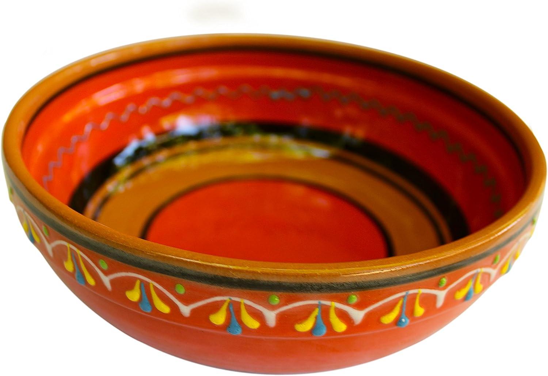 Spanish Ceramic Terracotta Olive Dish