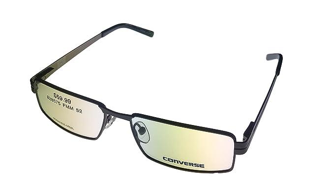 8b965281f17 Amazon.com  Converse Prescription Eyeglasses - A045 Gunmetal - (52 ...