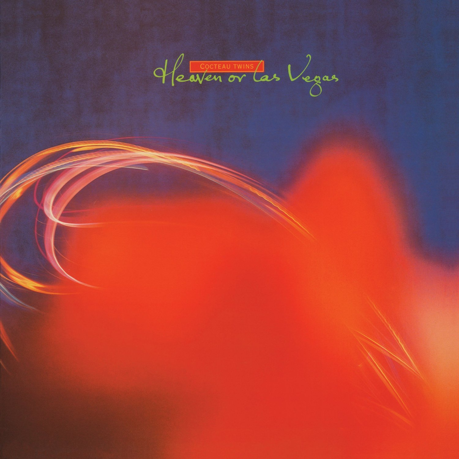 COCTEAU TWINS Heaven or Las Vegas album cover