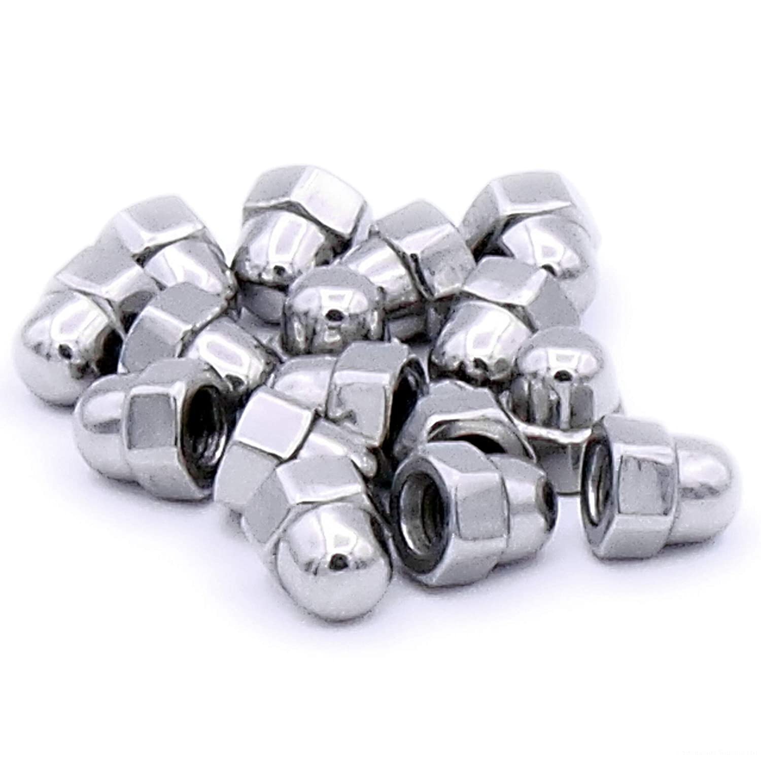 M4 (4mm) Dome Cap Nuts - Stainless Steel (Pack of 20) Singularity Supplies Ltd