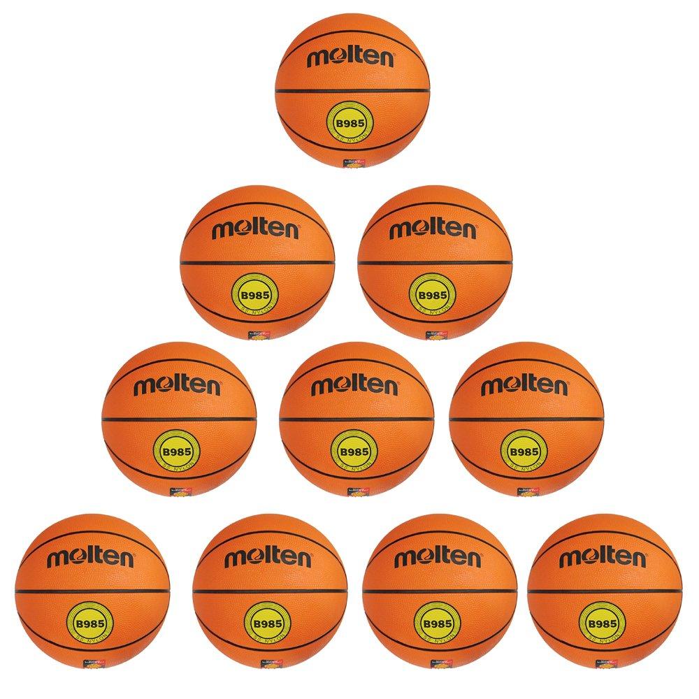 Fan Sport 24 Molten B985 pelota 10 del paquete naranja de ...