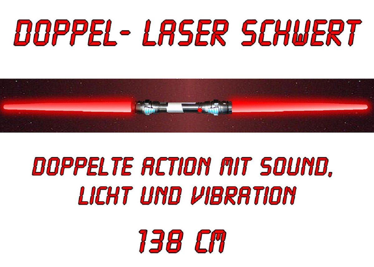 tevenger Spada Sciabola Suono Luce Vibrazione 138 cm Verde Rosso Blu Blu