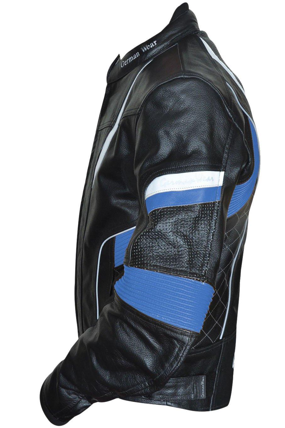 /Chaqueta de moto chaqueta de piel chopper Chaqueta Cruiser German Wear/