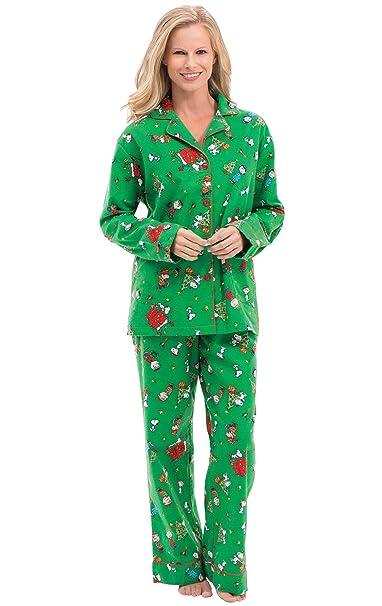 Christmas Pajamas Womens.Pajamagram Christmas Pajamas For Women Flannel Christmas Pjs Green