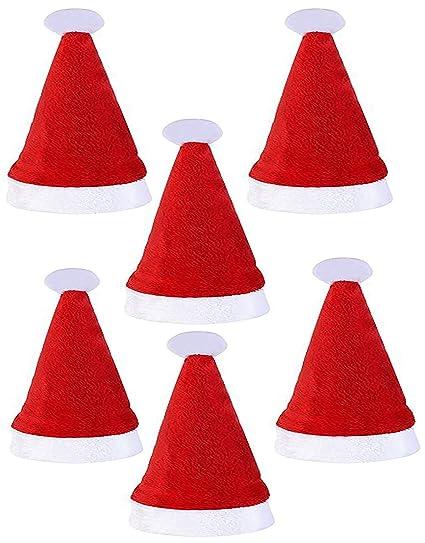 LUCKLYSTAR® Bolsa de Cuchara Navidad Vajilla Juego de Cena Decoración Navidad Bolsillos para Cubiertos Cocina