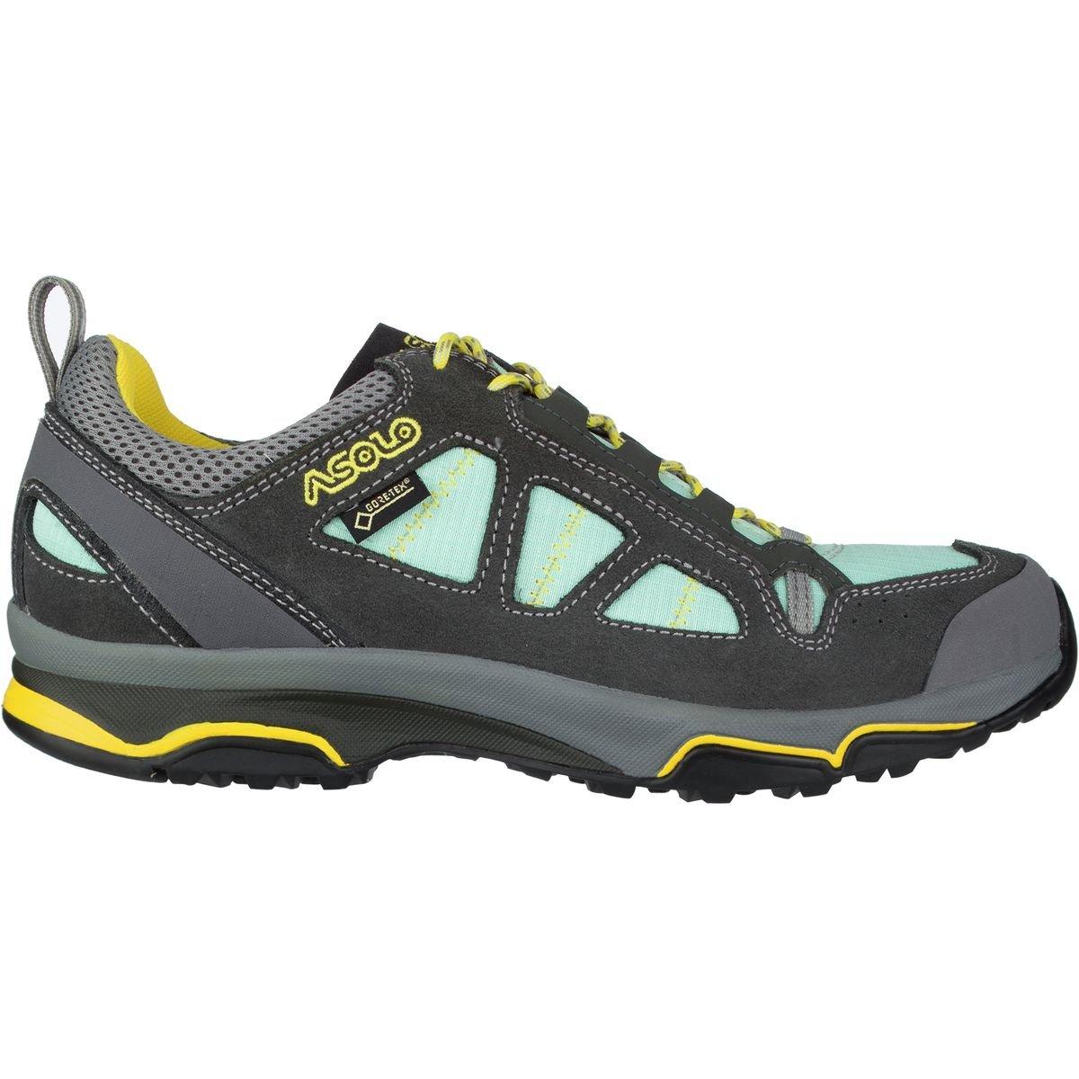 Asolo Megaton GV GTX Hiking Shoe - Women's-Graphite/Pool A40011-Graphite/Pool Side-6.5 by Asolo (Image #1)