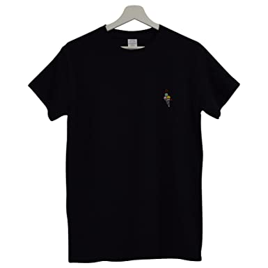 8f0ef6c71cd Actual Fact Gucci Mane Hip Hop Trap House Embroidered Black Hip Hop Tee T- Shirt (Small-XXL)  Amazon.co.uk  Clothing