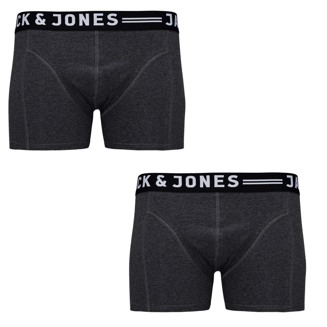 JACSENSE schwarz JACK /& JONES Boxershorts Trunks Unterhose 3er-Box