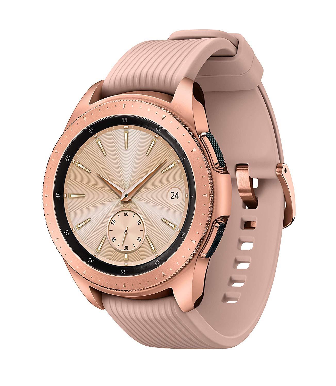 Samsung Galaxy Watch (42mm) SM-R810NZDAXAR (Bluetooth) - Rose Gold (Renewed)