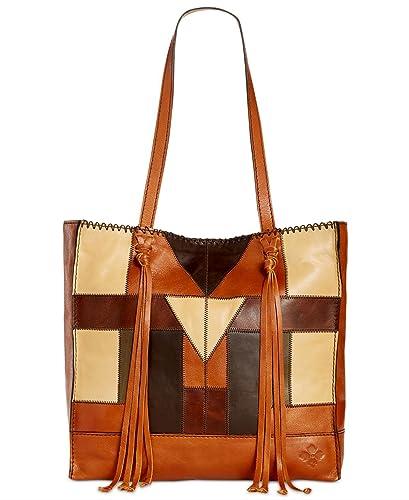Patricia Nash Toscano Tote Zigzag Stitch Patchwork Tote Handbags ... a8b6673c5f