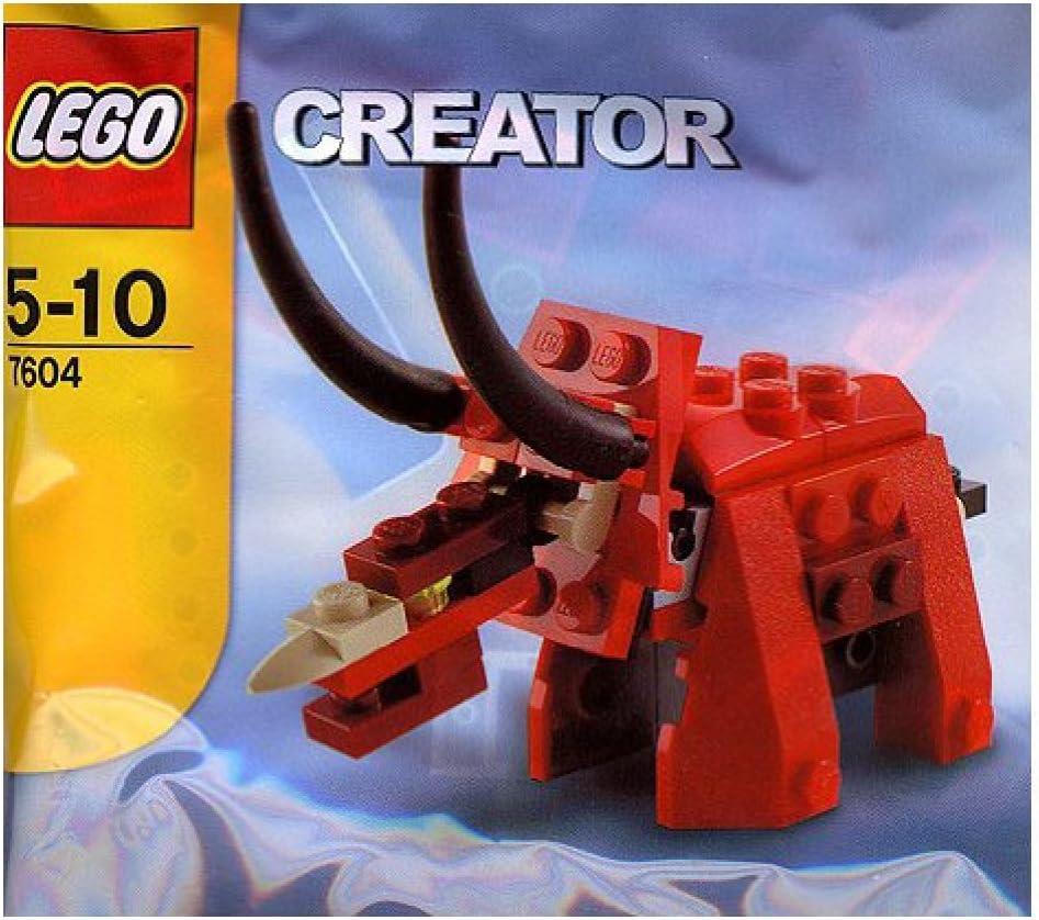 Lego Creator Bagged Set #7604 Triceratops Dinosaur