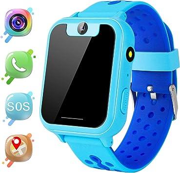 MeritSoar Tech GPS Niños Smartwatch Phone: Amazon.es: Electrónica