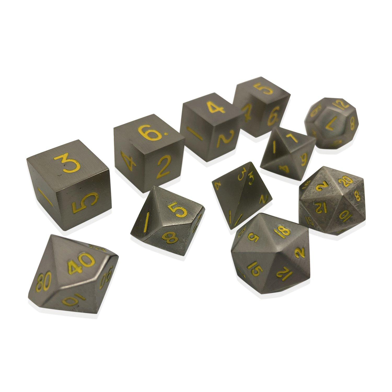 100%安い Norse Anvil Foundry Pathfinder Set of 11 Blacksmiths Math Anvil THIEVES PACK Full Metal Polyhedral Dice by RPG Math Games DnD Pathfinder B07FY3FKW2, 浜北市:b791fa25 --- arianechie.dominiotemporario.com