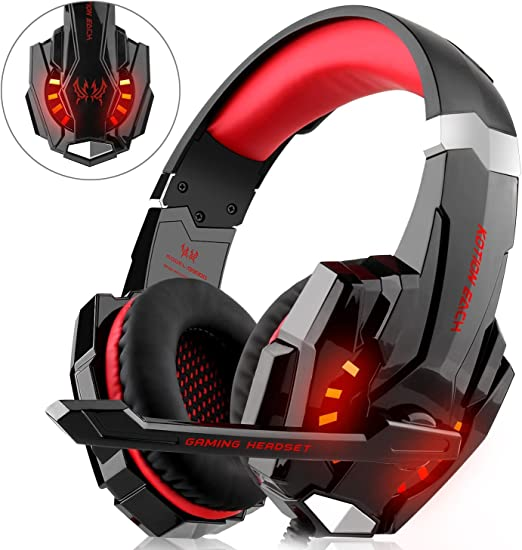Gaming Headset para PS4 Xbox One PC, diza100 Gaming Auriculares ...