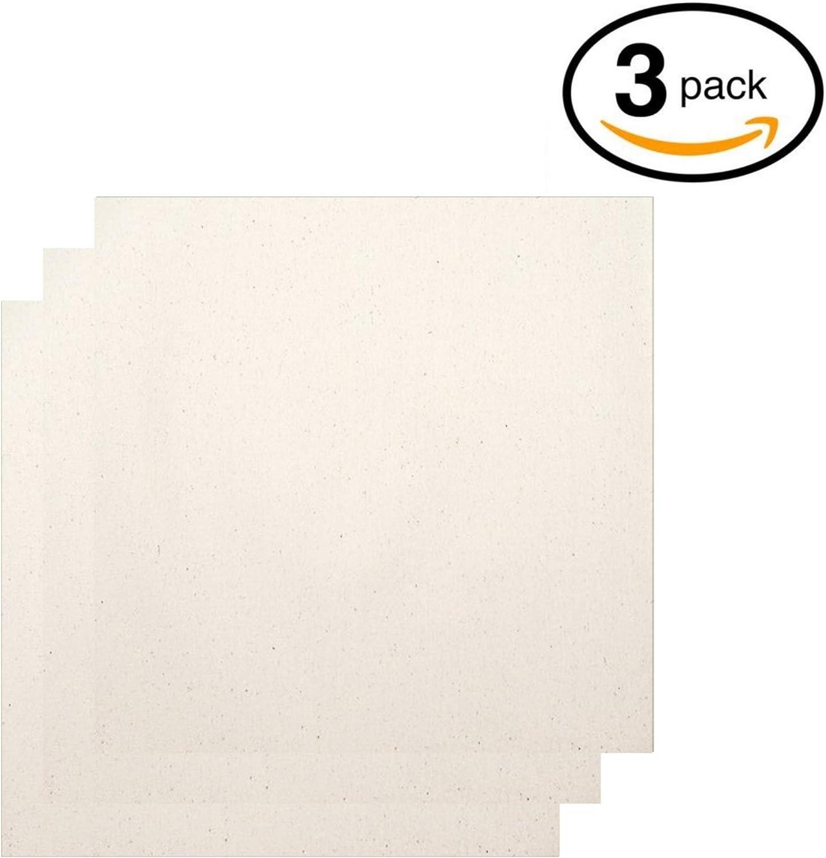 Bandana Made in USA set Mens Handkerchiefs Unbleached Organic Cotton 3
