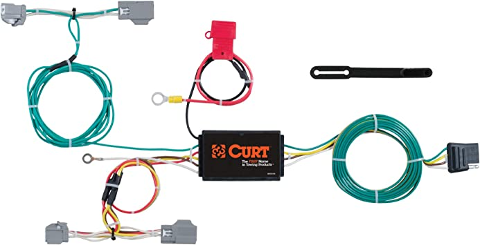 Amazon.com: CURT 56285 Vehicle-Side Custom 4-Pin Trailer Wiring Harness,  Select Volvo XC90: Automotive | Volvo Xc90 Trailer Wiring |  | Amazon.com