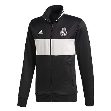 adidas Chaqueta Real Madrid 3S 2018-2019 Black-Core White  Amazon.es ... 6e70699a774ec