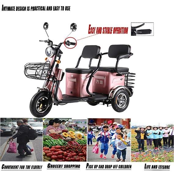 Triciclo Eléctrico Adulto Anciano Scooter De Ocio Anciano ...